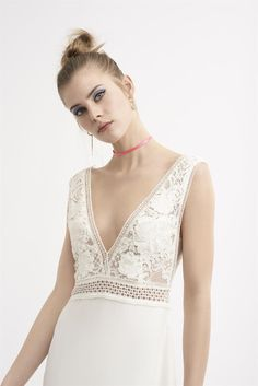 Rembo Styling, Boho Outfits, Dress Outfits, Bohostyle, Wedding Dresses, Clothes, Fashion, Sleeved Wedding Dresses, Boyfriends