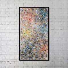 プリント絵画 抽象絵画 アートプリント フレーム付 24*48inch 4003-FAINK32-04