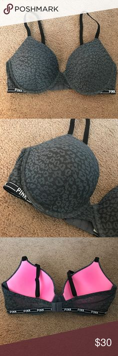 PINK Victoria's Secret push up bra New without tags - only tried on. Never worn for extended period of time. Size 36D. Push up style. PINK Victoria's Secret Intimates & Sleepwear Bras