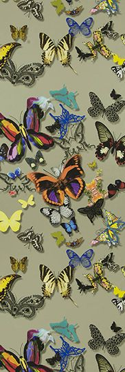 Christian Lacroix 'Butterfly Parade' wallpaper