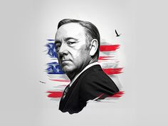 Frank Underwood designed by Sander Rietdijk. Political Posters, Political Campaign, Frank Underwood Quotes, House Of Cards Netflix, Mafia Gangster, Campaign Posters, Babylon 5, Kevin Spacey, Art Gallery