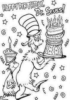 Use this adorable Dr. Seuss-themed thank you note for your