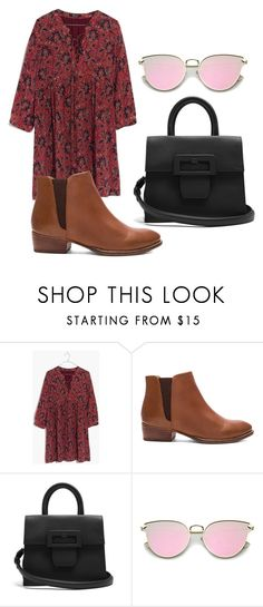 """""""Untitled #615"""" by karinasoto39 on Polyvore featuring Madewell, Seychelles and Maison Margiela"""