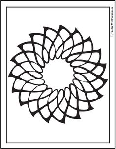 70 Geometric Coloring Pages To Print And Customize SheetsColoring PagesColoring BooksGeometric FlowerCeltic DesignsSpinning