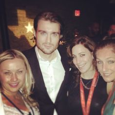 Mashable's Pete Cashmore with some of the Ketchum crew at SXSW.