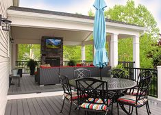The Best Covered Back Patio Ideas For Your Home – Pool Landscape Ideas Outdoor Living Rooms, Outside Living, Outdoor Spaces, Outdoor Patios, Outdoor Kitchens, Backyard Patio Designs, Patio Ideas, Backyard Ideas, Porch Ideas