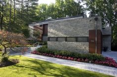Sustainable Long Island Residence modern exterior