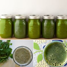 Green Juices and Smoothies