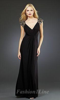 black black dress