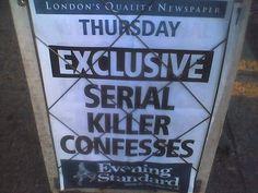 Serial Killer Confesses