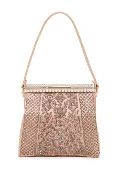 Valentino Beaded Satin Evening Bag