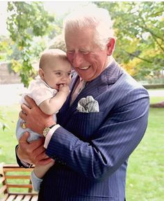 Charles with his 3rd grandchild