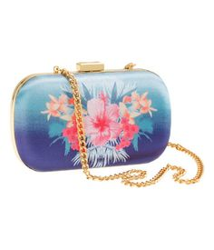 fun floral hard case purse with metal chain Cute Purses, Purses And Handbags, H&m Bags, Hawaii Style, Dressed To Kill, Trends, Metal Chain, Passion For Fashion, Spring Summer