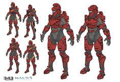 ArtStation - Achilles MP armor for Halo 5 Guardians, Sam Brown