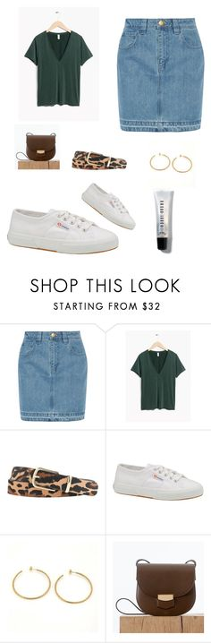 """""""Saturday"""" by the-archivist-g ❤ liked on Polyvore featuring Topshop Unique, J.Crew, Superga, Tiffany & Co. and Bobbi Brown Cosmetics"""
