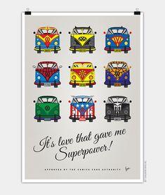 van volkswagen superhero