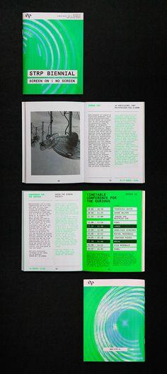 Raw Color diseña la identidad visual para la STRP Bienal
