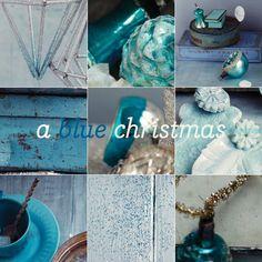 Gorgeous Blue Vintage Christmas!