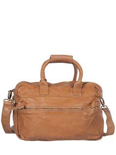 Cowboysbag New York 1154 Beige Tassen, Schoenentas en Leer