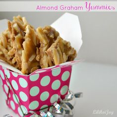 Almond graham cracker brittle yummies - great for Holiday cookie plates