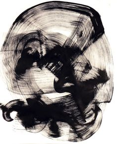 Thomas Hammer's work is so gestural you can't help but try and look for a figure in it!