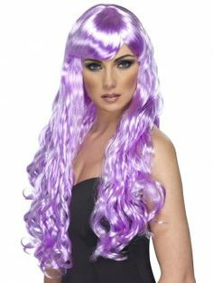 Desire Wig, lilac at funnfrolic.co.uk - £9.99