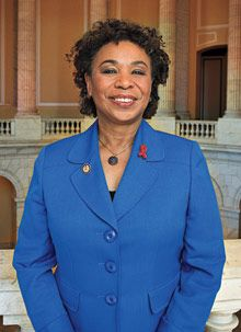 Barbara Lee The lone voice in Congress against the war in Iraq. Known all over the world, she is definitely a smart southern lady and one of my heroes.