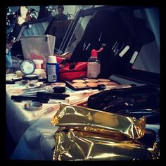 Re-pin if you spot @Magnumicecream backstage at the @alice_olivia F/W '12 #fashion week presentation. #style