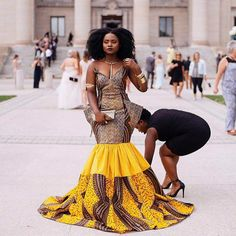 The complete pictures of latest ankara long gown styles of 2018 you've been searching for. These long ankara gown styles of 2018 are beautiful African Print Fashion, Africa Fashion, Ethnic Fashion, African Prints, Woman Fashion, African Attire, African Wear, African Women, Ankara Long Gown Styles