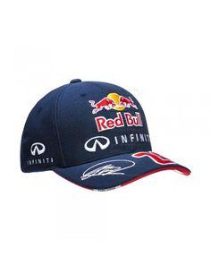 Red Bull F1 D. Kvyat Driver curved Cap Navy Gorra Red Bull 409e3abbe32