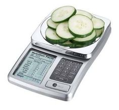 A great product to teach portion control. And, it shows nutritional information on the portions of food you weigh!