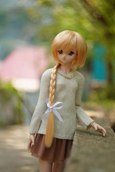 Knitted sweater for Volks Dollfie Dream SD DD от AntejaBoutique