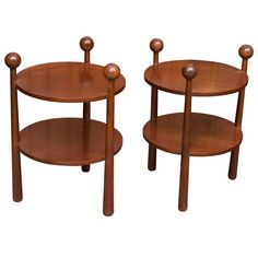 Mid-Century Modern Side Tables 1