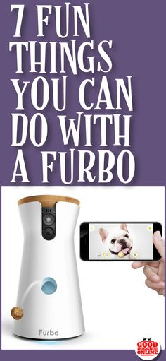 Have fun and fight dog loneliness with the Furbo Dog Camera. If your dog is home alone you can see, talk and give treats to your dog. Great mental stimulation for your dog and good for separation anxiety. #dog #furbo