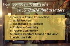 Prepare Yourself: In Retail Fundraising, The Cashier is in Charge — Selfish Giving