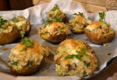 Baked Potato, Bacon, Pork, Potatoes, Cooking Recipes, Lunch, Ethnic Recipes, Recipies, Kale Stir Fry