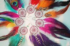 Handmade Dream Catcher Feather Earring Extra Long inches, You Choose Feather Symbolism, Grizzly Rooster Hair Feathers by (null) on Etsy (null) Yellow Feathers, Blue Feather, Hair Feathers, Dream Catcher Earrings, Dream Catchers, Feather Symbolism, Hair Chalk, Tumblr, Feathered Hairstyles