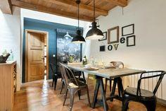 Salle à manger de style industriel, une maison à Baix Emporda, design Home Deco