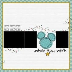Free Digital Scrapbooking Templates, Layout sketches and Page Maps by kristie