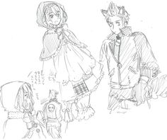[Official Site] Halloween Costume Sketches: hetalia