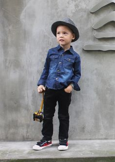 mini dandy look de rue Milk Magazine
