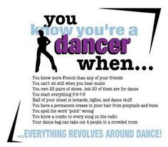 You know your a dancer when... #dancer #problems