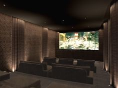bespoke home cinema seating - Google Search