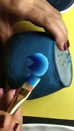 Painting On Glass, Long Painting, Art Painting Gallery, One Stroke Painting, Blue Painting, Fabric Painting, Diy Painting, Painting Flowers Tutorial, Acrylic Painting Flowers