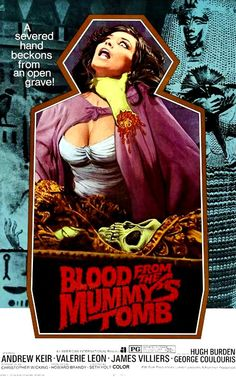 Blood From Mummy's Tomb Movie Poster by derrickthebarbaric on DeviantArt