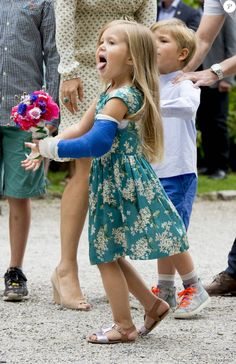 princesse Joséphine et le prince Vincent