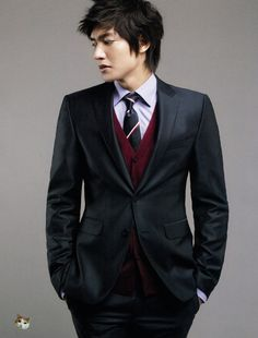 Lee Min Ho for 2010 Trugen Fall Collection