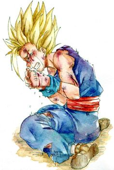SSJ2 Gohan- woah... well I can understand since Gohan's a kid and he lost his father to someone like Cell.
