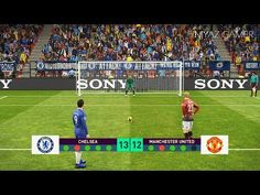 CHELSEA vs MANCHESTER UNITED | Penalty Shootout | PES 2019 Gameplay PC - YouTube