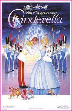 Disney Cinderella Movie Poster